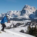 2019 Skifahren mit Panoramablick Helmuth Rier