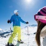 2019 Skifahren Paar Helmuth Rier