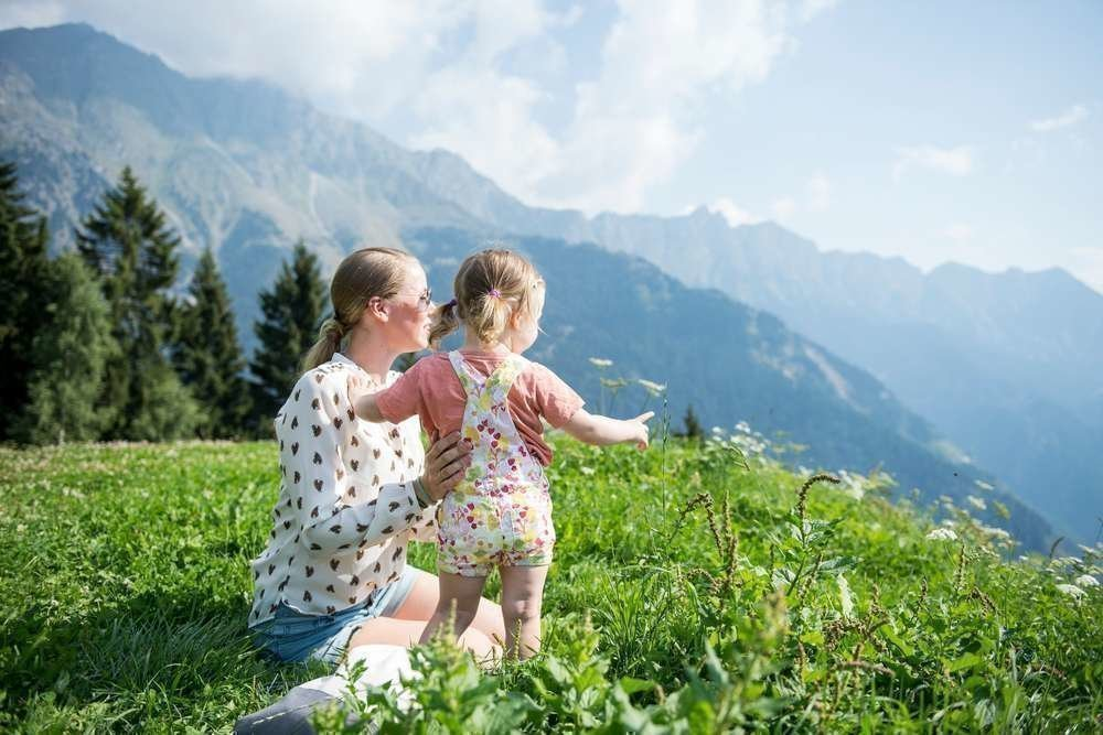 A family holiday close to the Seiser Alm