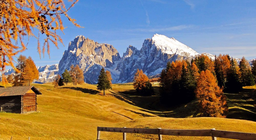 A hiking holiday on the Seiser Alm